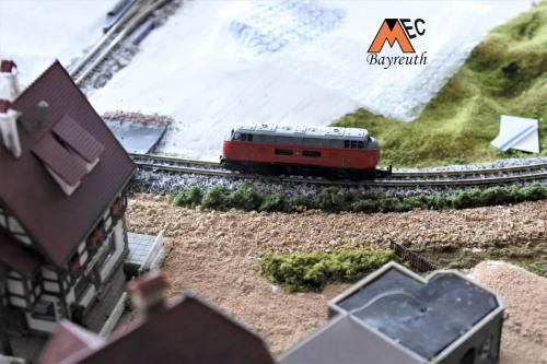 N-Anlage neu - Bahnhof und Strecke